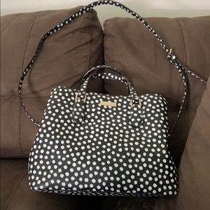 Kate Spade purse with hand and shoulder straps